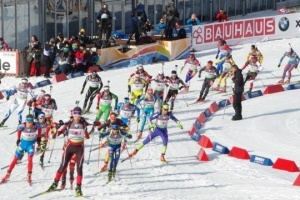 Українські біатлоністки були лише 15-ми в естафеті етапу Кубка світу в Рупольдінгу