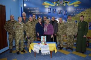 В Староконстантинове почтили защитников Донецкого аэропорта