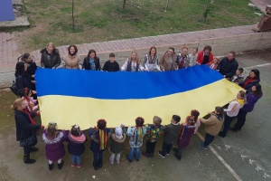 В Анталії відбувся флешмоб до Дня Соборності України