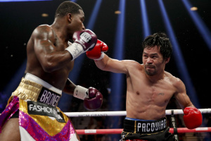 Бокс: Пакьяо переміг Бронера і захистив пояс чемпіона світу WBA