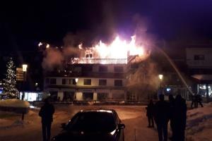 У Куршавелі спалахнув готель, є загиблі