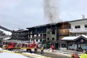 Кількість постраждалих у пожежі в Куршевелі зросла до 25