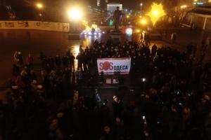 В Одессе активисты Нацкорпуса требовали отставки мэра Труханова