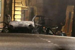 В сети обнародовали видео взрыва в Северной Ирландии