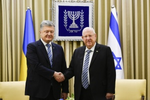 Poroshenko calls on Israel to help free Ukrainian sailors from Russia