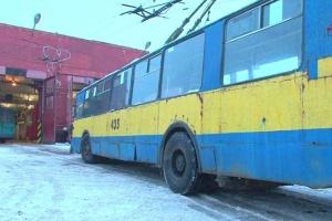 В Чернигове из-за гриппа будут дезинфицировать троллейбусы