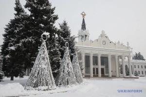 Харьковщину засыпало снегом