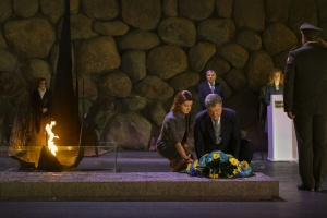 Порошенко в Израиле посетил Мемориальный комплекс Холокоста