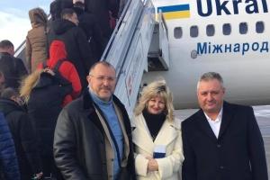 Родственники военнопленных моряков вылетели в Страсбург