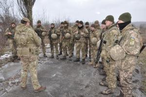 Британцы обучают украинских морпехов по программе ORBITAL