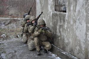 Three Ukrainian servicemen wounded amid seven enemy attacks in Donbas