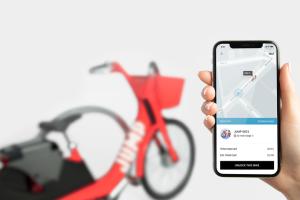 Uber розроблятиме безпілотні велосипеди