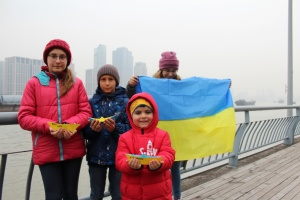 Українська громада Шанхая підтримала полонених українських моряків у РФ