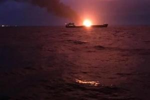 Пожежа у Керченській протоці: ЗМІ повідомляють про десять загиблих