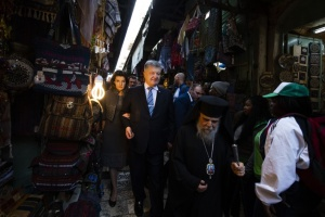 Президент України відвідав Храм Гробу Господнього