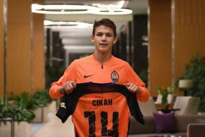 «Шахтер» подписал 17-летнего нападающего «Карпат» Сикана