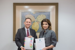 Maryna Poroshenko and Israel Foreign Ministry to develop inclusive education in Ukraine
