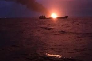 Пожежа в Керченській протоці: МТОТ припускає, що судна незаконно возили газ до Сирії