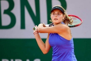 Теннис: Завацкая в среду стартует на турнире  ITF  во Франции