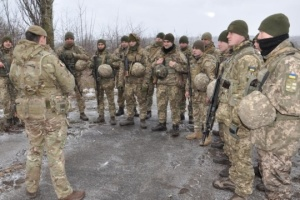 British instructors train Ukrainian marines under operation ORBITAL. Photos