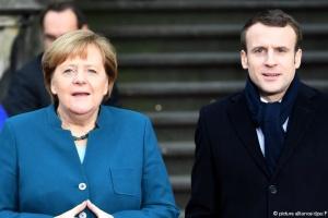 Меркель и Макрона подписали новый договор о дружбе между странами