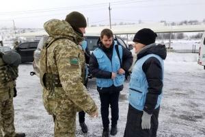 """Глава миссии ООН по правам человека посетила КПВВ """"Новотроицкое"""""""