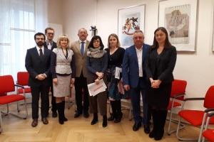 Родичі полонених моряків зустрілися з головою делегації ЄС в Раді Європи
