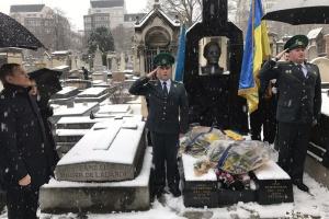 Українці у Парижі в День Соборності віддали шану Петлюрі й Шевченку