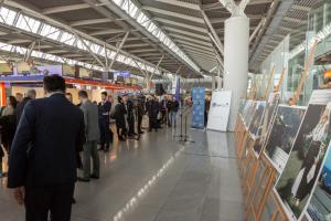 Украинские сокровища наследия ЮНЕСКО показали в варшавском аэропорту
