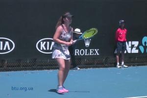 Australian Open: Снигур вышла в 1/4 финала юниорского турнира