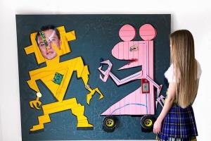 В ОАЕ відкривається виставка «робототехнічного мистецтва» від української художниці