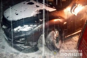 В Яремче автобус столкнулся с легковушкой