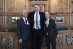 Кличко з мерами Давоса та Санкт-Галлена обговорив впровадження smart-технологій