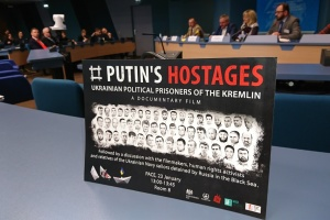 В ПАСЕ показали фильм об украинских заложниках Путина
