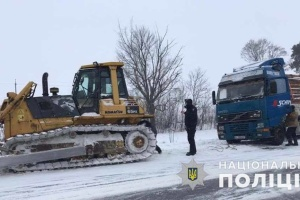 Негода спричинила на Київщині 155 аварій за добу