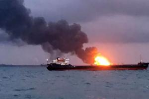Пожар танкеров возле Керчи: 10 пропавших моряков признают погибшими