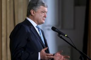 Poroshenko habla en Davos