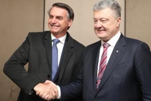 Порошенко в Давосе встретился с президентом Бразилии