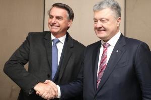 Порошенко у Давосі зустрівся з президентом Бразилії