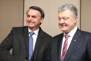 Poroshenko invites Brazil's new president to visit Ukraine