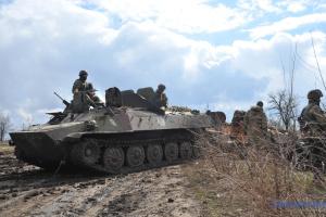 Ostukraine: Acht Besatzer getötet, ein ukrainischer Soldat verletzt