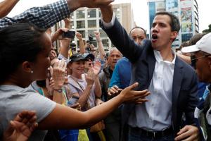 Гуайдо призывает к протестам по всей Венесуэле из-за недоставленной гумпомощи