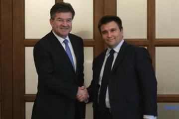Pavlo Klimkine se rendra dans le Donbass avec le nouveau chef de l'OSCE