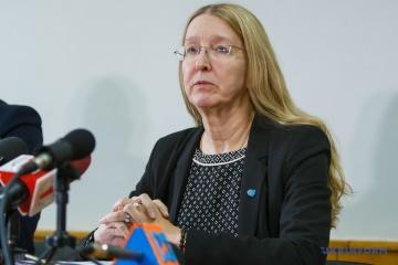 Suprun espera que el equipo de Zelensky continúe la reforma médica