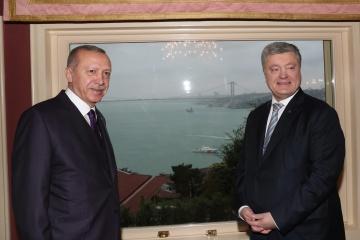 Poroshenko thanks Erdogan for UN resolution on Crimea
