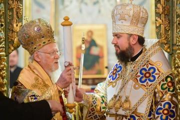 【ウクライナ正教会独立】コンスタンティノープル総主教、ウクライナ正教会に独立文書を授与