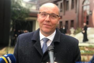 パルビー最高会議議長「教会独立のトモスはウクライナの精神面の独立を確立する文書」