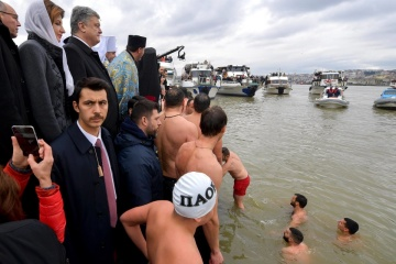 Ukrainian delegation attends water blessing ceremony in Istanbul