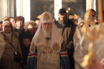 Ukraine's church will be second largest among all Orthodox churches - Filaret