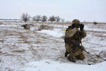 Militants violated ceasefire in eastern Ukraine eight times in last day